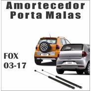 Amortecedor Tampa Traseira Porta Malas Fox 03-17 Par