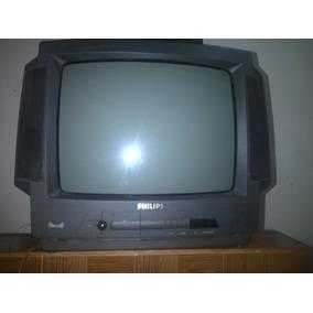 Tv Philips 21 Pul Para Reparar O Para Repuesto No Enciende..