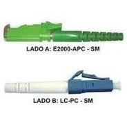 Cordão Óptico E2000-apc / Lc-pc 15 Mts Vendo Outros Tamanhos