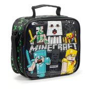 Lancheira Infantil Térmica Soft  Minecraft Dermiwil