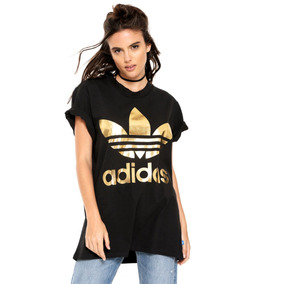 Camiseta Adidas 3 Stripe Trefoil Tamanho G Verde Oferta! - Camisetas ... ef59642314ac1
