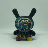 Kidrobot Jean Michel Basquiat Two Sided Coin Dunny Figura