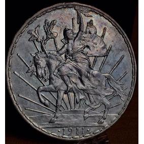 Moneda Caballito 1 Peso 1911 Excelente Condicion