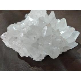 Drusa De Cuarzo Cristal ,de 8cm Por 4 Cm.hermosa !!!