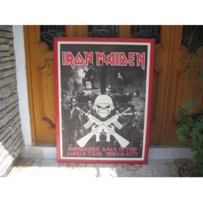Cuadro De Iron Maiden Edicion Especial De Coleccion 1.4x1mts