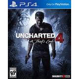 Uncharted 4 Fisico Nuevo Y Sellado
