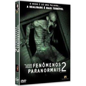 Dvd Fenômenos Paranormais 2 - Terror - Lacrado Original
