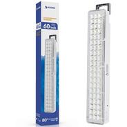 Luz De Emergencia Recargable 60 Leds Luces 2 Intensidades