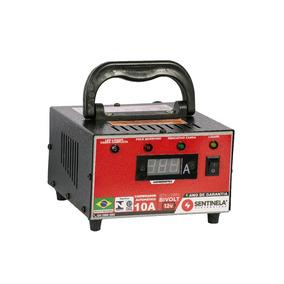 Carregador De Bateria Automático 10a - 12v - Bivolt