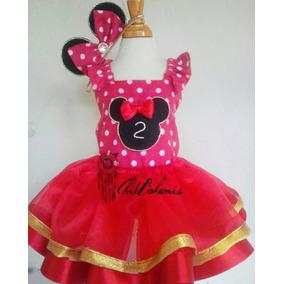 Vestido Tutu Peppa Pig Minnie Shoopkins Disney Princes Sofia