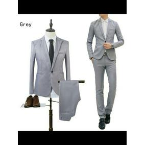 Terno Smoking Slim Fit Moda (blazer+calça) Noivos Formaturas