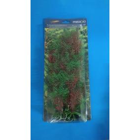 Plantas Artificiais Para Aquarios Maxxi Al-12--30cm-uma Unid