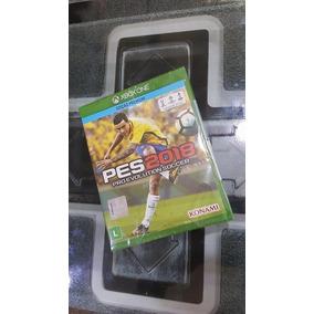 Pes 18 Xbox One Novo Lacrado Ab Games