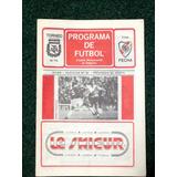 River Huracan Programa Oficial 1980 Torneo 1ra Kempes