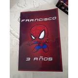 Spiderman Hombre Araña Tarjetas Cumpleaño Fiestas Infantiles