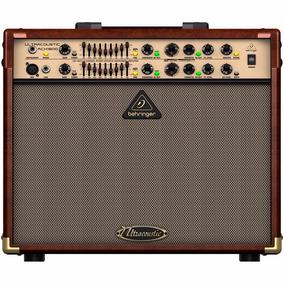 Amplificador Para Violão E Voz Behringer 180w Acx1800 220v