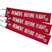 3 Llaveros  Remove Before Flight ® Combo