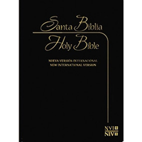 Nvi / Niv Biblia Bilingue Español-inglés (spanish Edition)