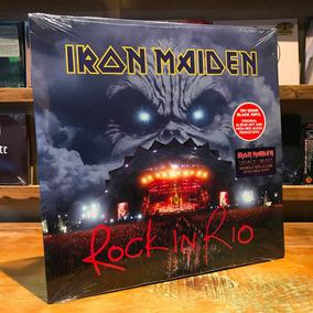 Iron Maiden Rock In Rio 3 Vinilos