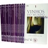 Vinhos Do Mundo - 16 Volumes - Coleção Adega Veja