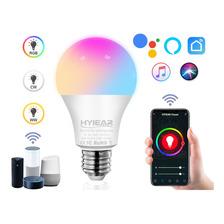 Foco Inteligente Hyiear Rgbcw Wifi De 9w 850lm E27