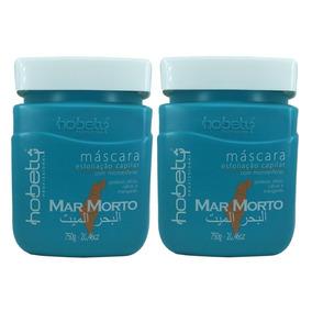 02 Máscaras Mar Morto Hobety 750 Gr