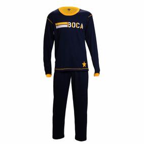 Pijama Estampado Adultos Boca Juniors