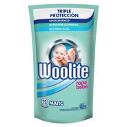 Jabón Líquido Ropa Bebé Repuesto Woolite 900 Ml