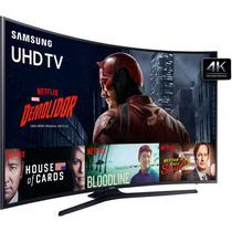 Smart Tv Led Curva 40 Polegadas Samsung 40ku6300 Ultra Hd 4k