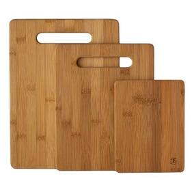 Totally Bamboo 20-7930 Tabla De Cortar Set De 3 Piezas