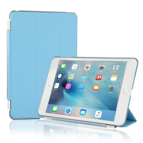 Coastacloud Ipad 2/3/4 Magnetic Smart Cover With Tran -azul