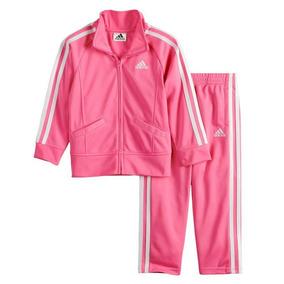 9751d72951a Conjunto Blusa+calça Rosa 24meses adidas Novo Original