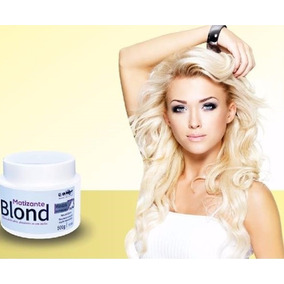 Mascara Hidratação Matizante Blond 500g Burana Profissional