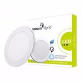 Lámpara Led Panel Redondo Para Empotrar 15w 6500k Nanumlight