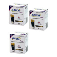 150 Tiras De Teste Glicemia P/ G-tech Free E Free Smart
