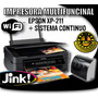 Impresora Multifuncional Epson Xp-211 Con Sistema Continuo