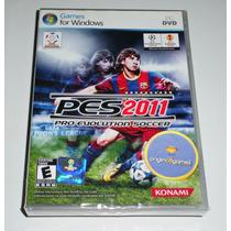 Pes 2011 Futebol Jogo Pc Mídia Física Original Lacrado