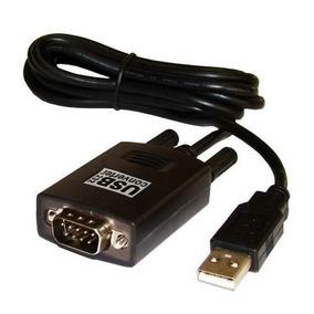 Cabo Usb 2.0 Macho X Conversor Serial Rs232 9 Pinos Macho