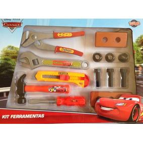Kit De Ferramentas Grande Carros Com Martelo 27147 Toyng