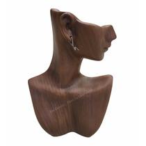 Busto Exhibidor Para Collares Y Aretes