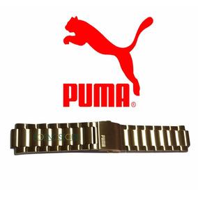 Pulseira Do Relógio Puma 96216g Aço 96216gppmda5 Dourado