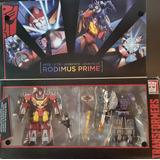 Transformers - Rise Of Rodimus Prime. Edición Platino