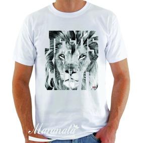Camiseta Gospel Leão