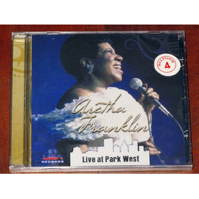 Aretha Franklin Live At Park West Cd Nuevo Importado