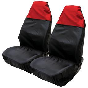 2 X Universal Nylon Impermeable Asiento Delantero... (red)