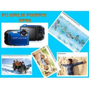 Camara Todo Terreno Fujifilm Xp80 Sumergible 15 Metros