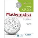 Libro Camb.igcse Mathematics Core And Extended