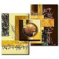 Cuadros Decorativos Abstractos! Pintados A Mano!