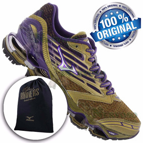 Mizuno Wave Prophecy 5 Golden Run Feminino Masculino+ Brinde