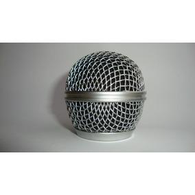 Grelha De Aço Para Microfone Shure Sm 58 - Id8888